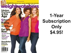 Weight Watchers Magazine Just $4.95 per Year!