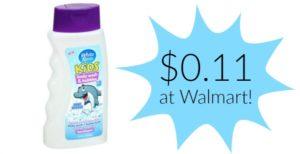 Walmart: White Rain Kids Body Wash Only $0.11!