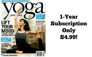 Yoga Journal Only $4.99 per Year!