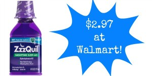 Walmart: ZzzQuil Sleep Aid Only $2.97!