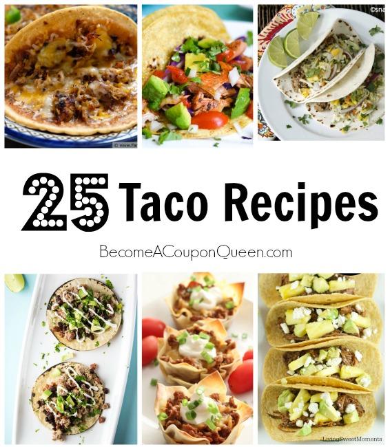 25 taco recipes