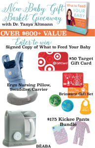 Enter to Win a $600 New Baby Giveaway Package! #WhatToFeedYourBaby
