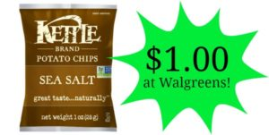 Walgreens: Kettle Brand Chips Only $1.00!