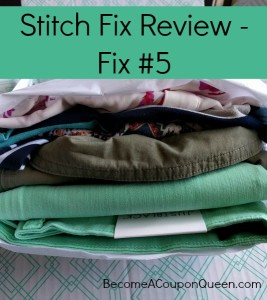 Stitch Fix Review: Fix #5 (May 2016)