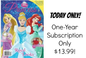 Disney Princess Magazine Only $13.99 per Year!
