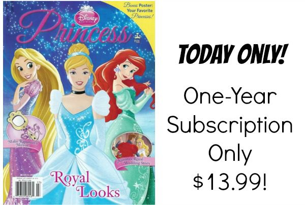 disney princess mag