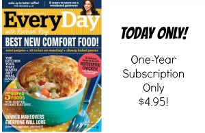 Every Day with Rachael Ray Magazine Subscription Only $4.95/yr!