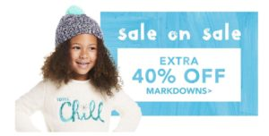Gymboree Sale: 40% off Markdowns + FREE Shipping!