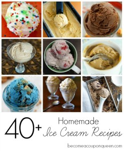 Over 40 Homemade Ice Cream Recipes