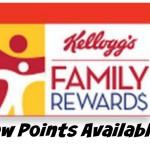100 Kellogg's Family Rewards Points!
