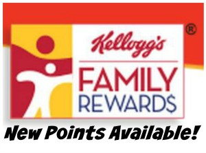 100 Kellogg's Family Rewards Points!