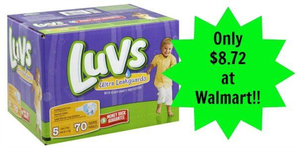 luvs coupon walmart