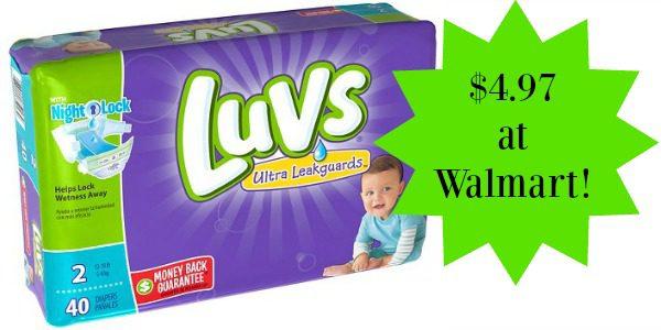 luvs diapers wm bcq