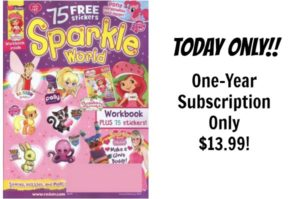 Sparkle World Magazine Only $13.99!