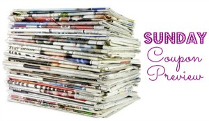 Sunday Coupon Preview – TWO Inserts in Sunday's Paper