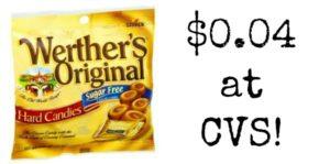 CVS: Werther's Caramels Sugar Free Only $0.04!