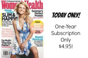 Women's Health Magazine Just $4.95/Year!