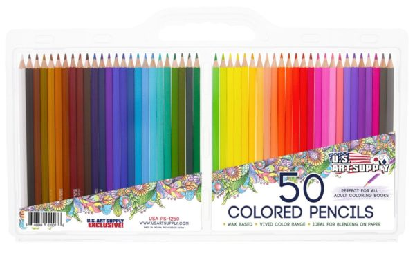 Artist Grade Colored Pencil Set
