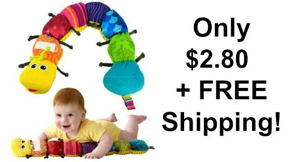 Colorful Musical Inchworm Developmental Baby Toy