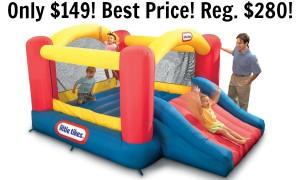 Little Tikes Jump 'n Slide Bouncer Only $149 Shipped! (reg. $280)