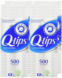 Q-tips Cotton Swabs, 500 Count 4-Pack as low as $1.94 each Shipped!