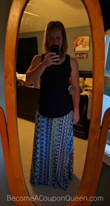 Renee C Macey Printed Maxi Skirt