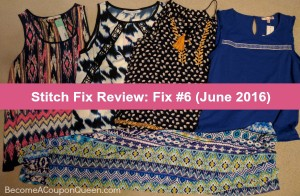 Stitch Fix Review: Fix #6 (June 2016)