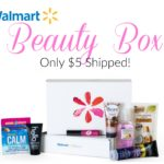 Walmart Beauty Box ONLY $5 Shipped!