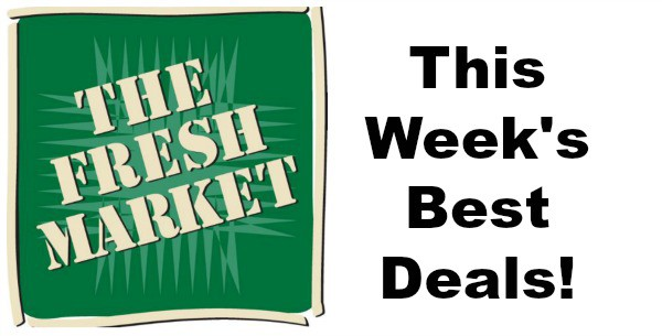 best deals at the fresh market