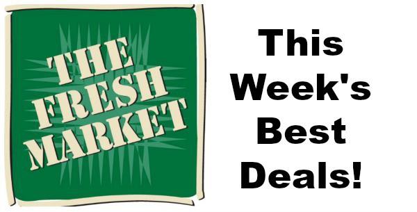 best deals at the fresh market