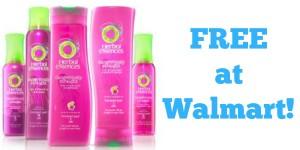 FREE Herbal Essences Hair Products at Walmart!
