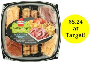 Target: Hormel Party Trays Only $5.24!
