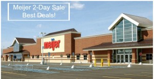Meijer 2-Day Sale Ad Best Deals – August 24 & 25