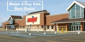 Meijer 4-Day Sale Ad Best Deals – August 31 – September 3