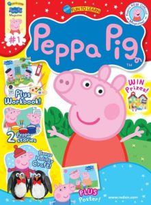 Peppa Pig Magazine Subscription Only $12.50!