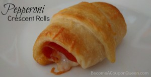 Pepperoni Crescent Rolls