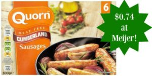 Meijer: Quorn Products Only $0.74!