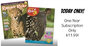 Ranger Rick Magazine Subscription Only $11.99/Year!