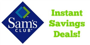 Sam's Club Instant Savings Deals – May 9 – June 3