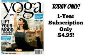 Yoga Journal Only $4.95 per Year!