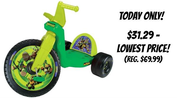 "Today Only! Big Wheel 16"" Teenage Mutant Ninja Turtles ..."
