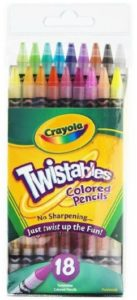 Crayola Twistables Colored Pencils 18-Count Pack Only 4.87!