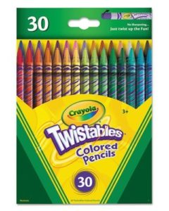 Crayola Twistable Colored Pencils 30 Count Pack Only $5.97!