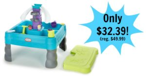 Little Tikes Sandy Lagoon Waterpark Play Table Only $32.39! (reg. $49.99)