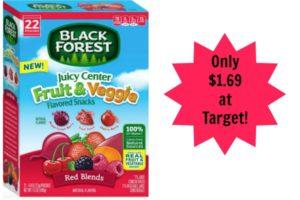 Target: Black Forest Fruit Snacks Value Size Only $1.69!