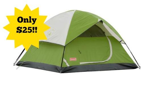 Coleman 7u2032 x 7u2032 Sundome 3 Person Tent Only $25!  sc 1 st  Become a Coupon Queen & Coleman 7u0027 x 7u0027 Sundome 3 Person Tent Only $25! - Become a Coupon ...