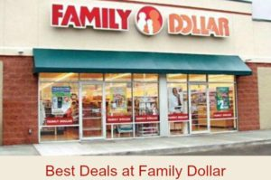 Family Dollar Best Deals – November 1 – 6