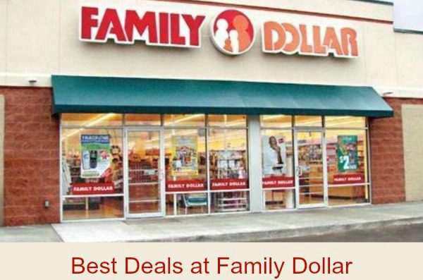 family dollar best deals