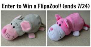FlipaZoo 2-in-1 Stuffed Animal Review and Giveaway!