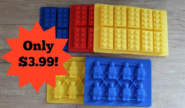 Lego Silicone Mold Only 3 99 Become A Coupon Queen